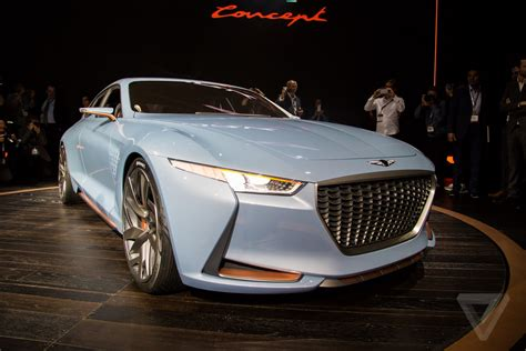 genesis new york concept bows at new york auto show motor trend genesis new york concept is a sports sedan that ll make