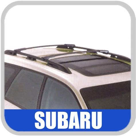 Subaru Factory Roof Rack by 2008 2009 Subaru Legacy Roof Rack Crossbar Set Oem Aero