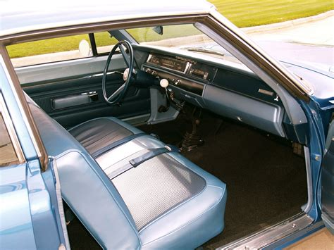 Interior Road by 1968 Plymouth Road Runner 426 Hemi Coupe Rm21