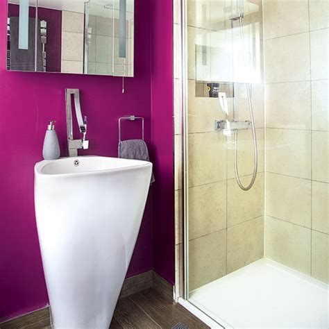 bright bathroom decor bright pink bathroom decorating ideal home