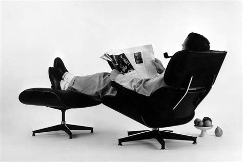 Eames Armchair And Ottoman Beyond The Chair The Vision Of Charles And Ray Eames