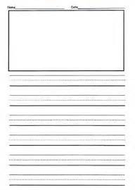 Writing Paper Second Grade 2nd Grade Writing Paper Learning Activities Pinterest