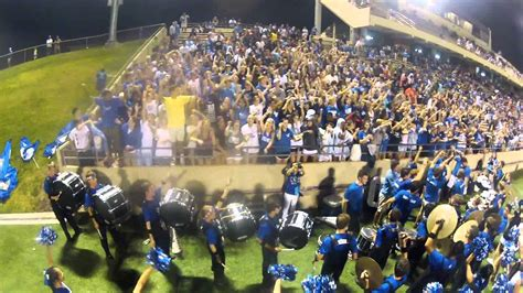 Cypress Creek Drumline And Student Section Vs Cy Springs
