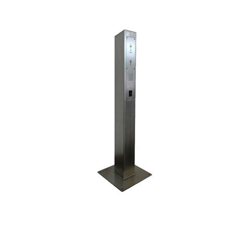 stainless steel l post fsm acp sq square stainless steel post for an access