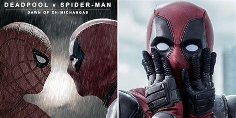 deadpool meme hilarious spider vs deadpool memes cbr