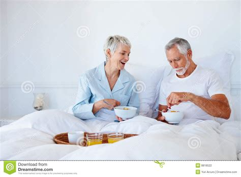 Still In Bed by Stock Photography Breakfast While Still