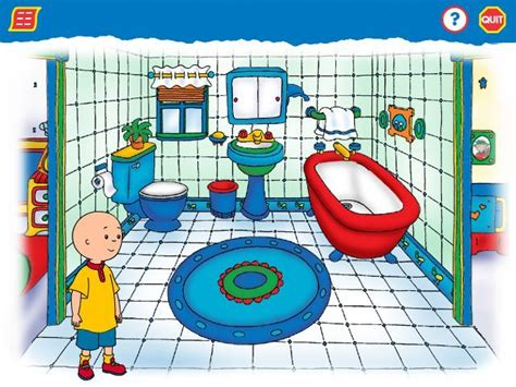 caillou bathroom caillou magic playhouse screenshots for windows mobygames