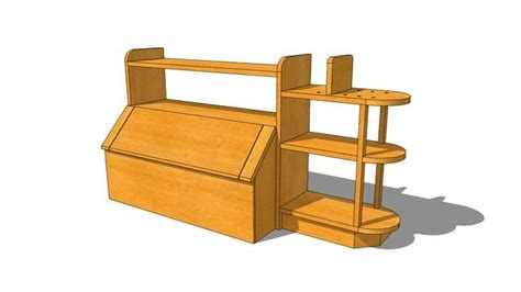 toy chest  book shelf plans toybox plans toy chest