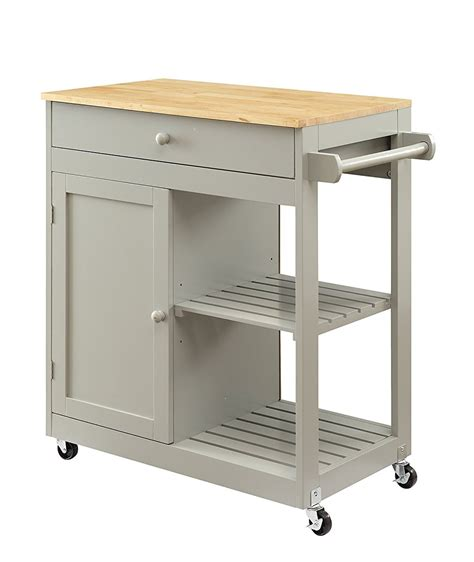 oak kitchen island cart oliver and smith nashville collection mobile kitchen