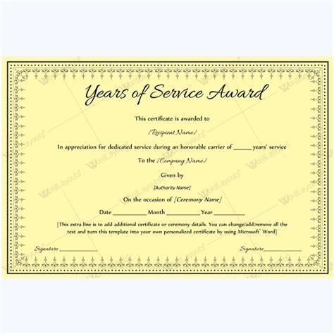 10 year work anniversary certificate kays makehauk co