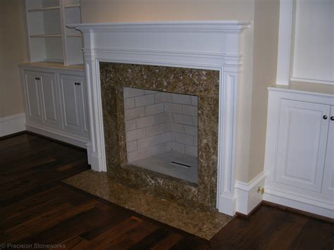 Fireplace Marble Hearth by Granite Fireplaces Neiltortorella