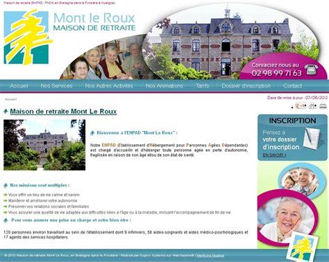 Jeux De Création De Maison 657 by Mont Leroux Maison De Retraite Et Hepad 224 Huelgoat