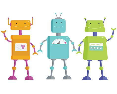 items similar to robot clip art clipart for kids