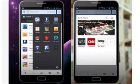 browsers for android tablets uc browser for android tablets and phones get updated gizbot