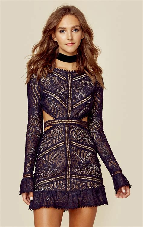 hairstyles for cut out dress emerie cut out dress embroidered lace bald hairstyles