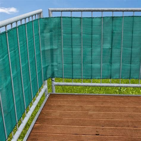 ringhiera balcone telo privacy per ringhiera balcone da 5 metri