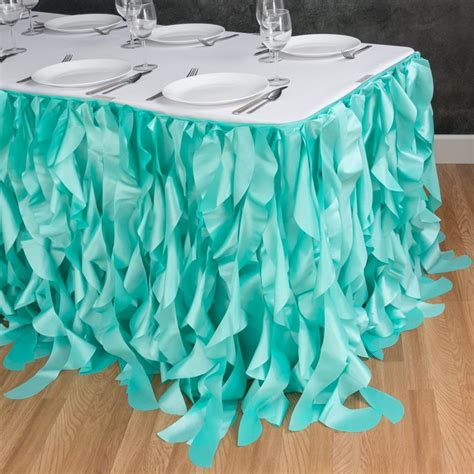 1000 Ideas About Table Skirts On Tulle Table