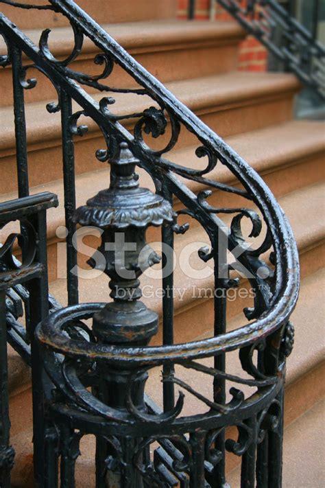 spiral cast iron railing stock photos freeimages