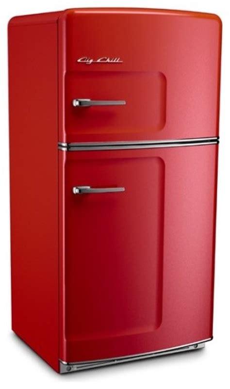 big chill original 20 9 cu ft top freezer refrigerator - Modern Refrigerator