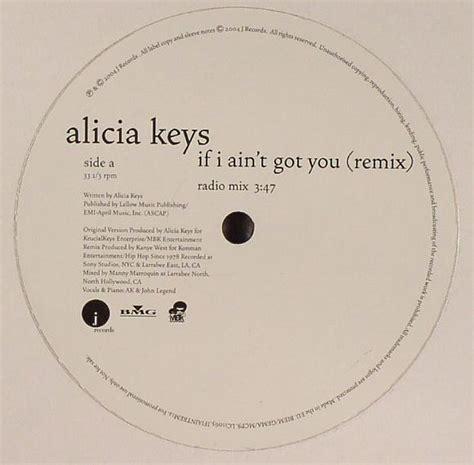 if i ain t got you if i ain t got you remix vinyl at juno records
