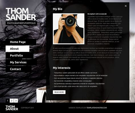 simple parallax website template free psd download download psd