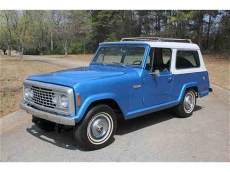 Jeep Jeepster Classic Jeep Commando For Sale On Classiccars 7