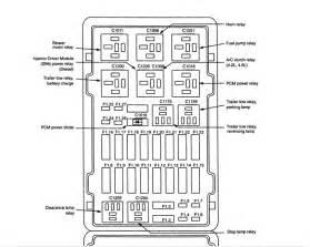 ford e150 cargo van 4 2l six cyl relay fuse box