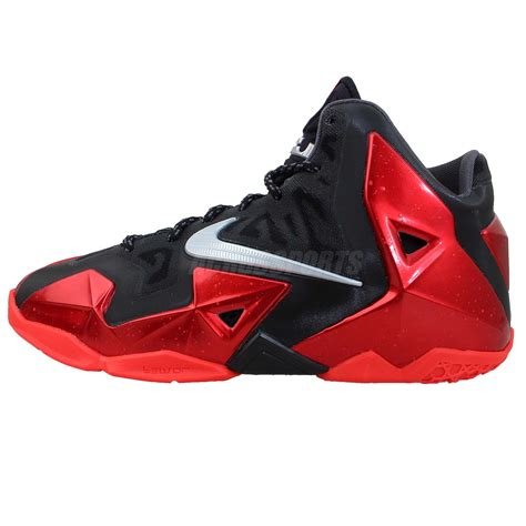 youth lebron basketball shoes nike lebron xi 11 bred gs 2013 youth basketball shoes