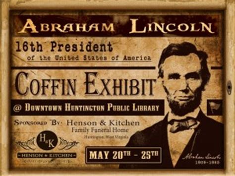 Henson And Kitchen Mortuary by Abraham Lincoln Quotes On Grief Quotesgram