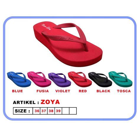 Diskon Sendal Jepit Wanita New Era 1 1 new era sandal wanita csa zoya sandal jepit wedges