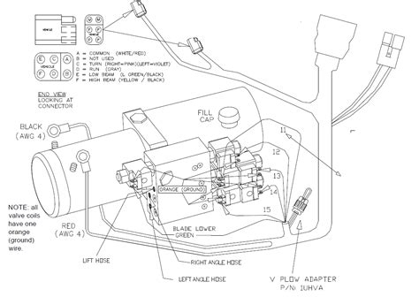 curtis snow plow wiring diagram curtis plow side 2 wiring kit sno pro 3000 1uhp