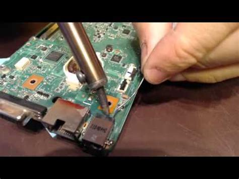 How To Repair Asus Laptop Charger Port power port repair on asus g53j g53jw had a broken charging port socket input connector