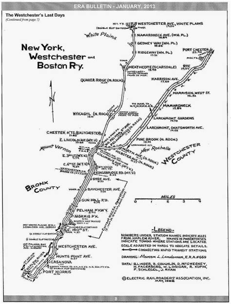 track map    york westchester boston railway