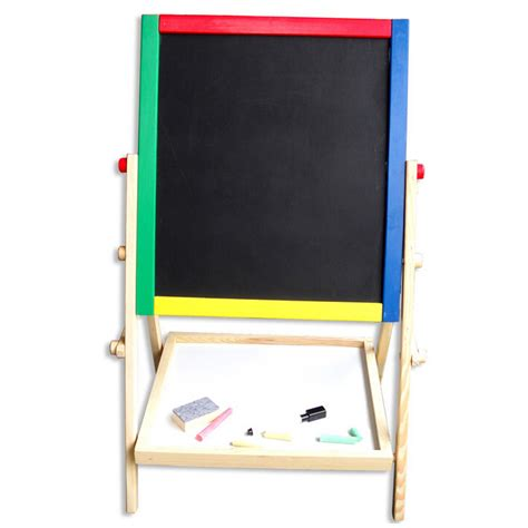 chalkboard paint vs whiteboard bedroom wooden sided easel chalkboard