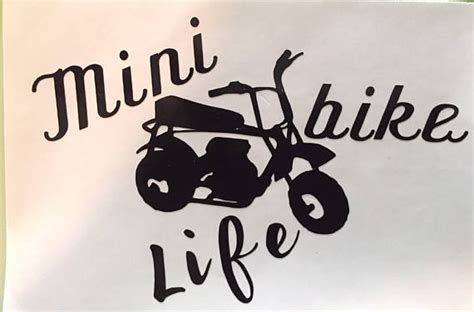 doodlebug mini bike stickers mini bike minibike doodlebug decal