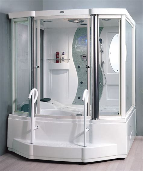 steam shower with bathtub steam shower enclosure for 2 persons whirlpool massage tub