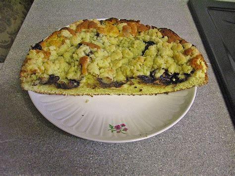 kuchen mit zimt kleiner kuchen mit pflaumenmus und zimt streuseln rezept