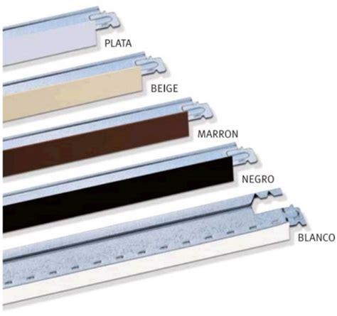 perfiles falso techo perfiles secundarios para techos registrables de pladur