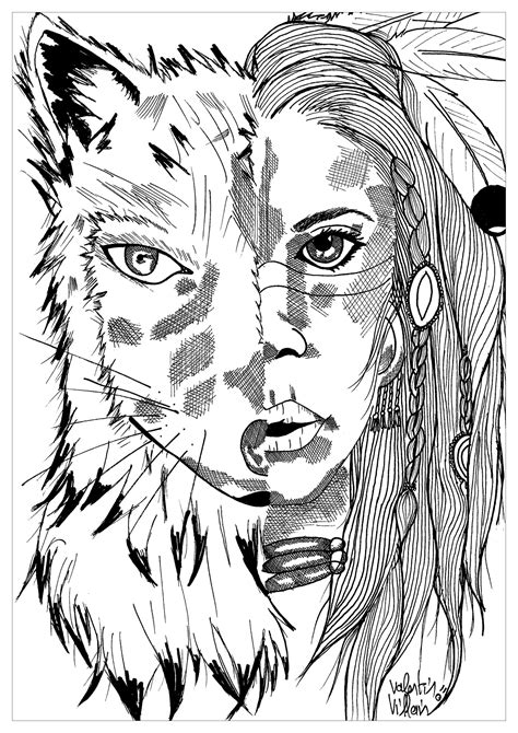 native american indian chief coloring pages coloring