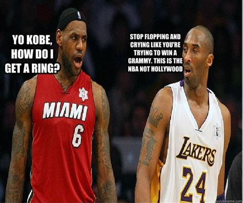 Lebron Flop Meme - stop flopping and crying like you re trying to win a