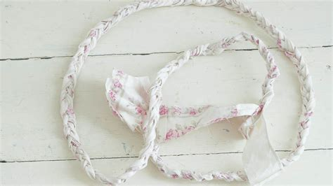 diy shabby braided coasters white lace cottage