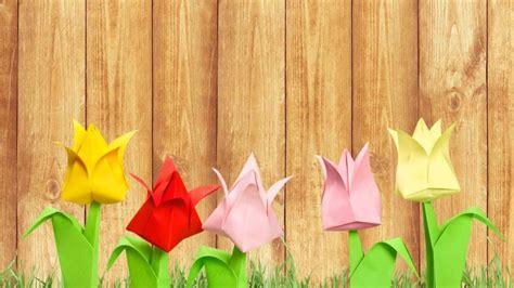 fiori di carta semplici fiori di carta origami semplici tutorial donnad