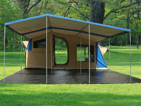 Tents With Awnings by Trailer Tent Awnings Rainwear
