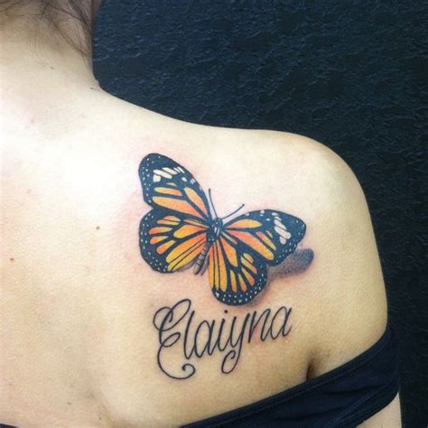 Collection Of 25 Butterfly Eye Tattoo On Back Shoulder Butterfly Tattoos On Shoulder Blade