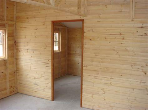 Log Cabin Interior Doors Wendys Sheds Log Cabin Interior