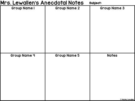 17 best ideas about anecdotal notes on pinterest small