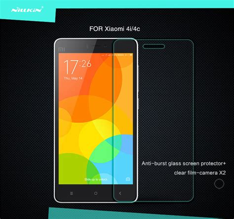 Tempered Glass 0 3mm Xiaomi Mi4i nillkin amazing h tempered glass screen protector for