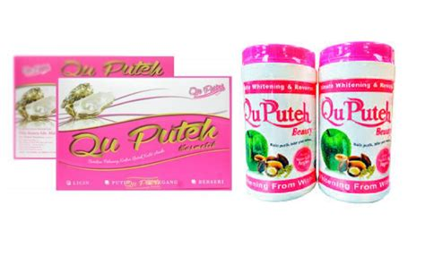 Qu Puteh Collagen Drink hafsah qu puteh collagen drink original murah