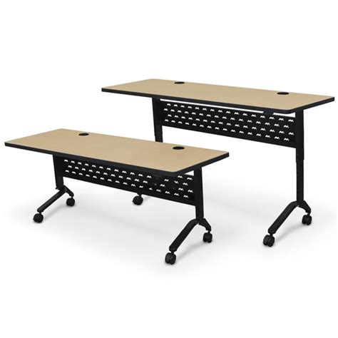 Adjustable Height Conference Table Balt Adjustable Height Nido Flip Top Conference Tables