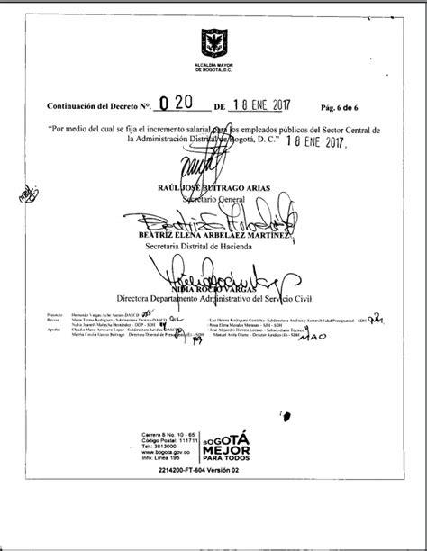 decreto aumento a los maestros 2016 decreto salarios empleados publicos colombia 2016 decreto